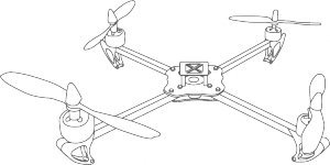 Quadcopter scketch